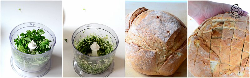 recipes-Pull-Apart-Garlic-Parsley-Bread|mygingergarlickitchen.com/ @anupama_dreams