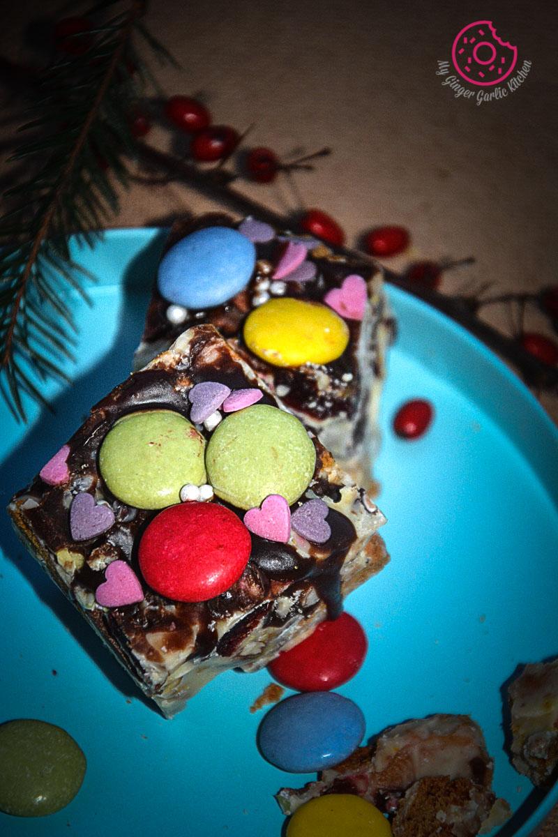 recipes-White-Christmas-Rocky-Road mygingergarlickitchen.com/ @anupama_dreams
