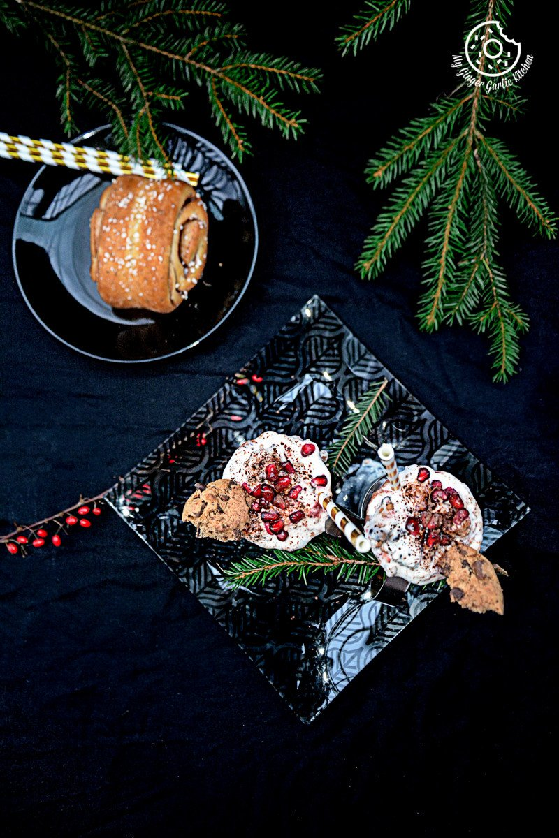 recipes-Mushroom-Kale-Stuffed-Paratha |mygingergarlickitchen.com/ @anupama_dreams
