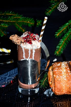 Image of Banana-Berry Choco-Coffee Smoothie | Video Recipe
