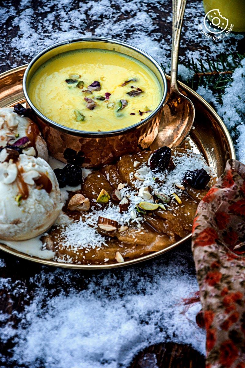 recipes-caramelized-banana-with-nuts-and-mango-yogurt-anupama-paliwal-my-ginger-garlic-kitchen-6