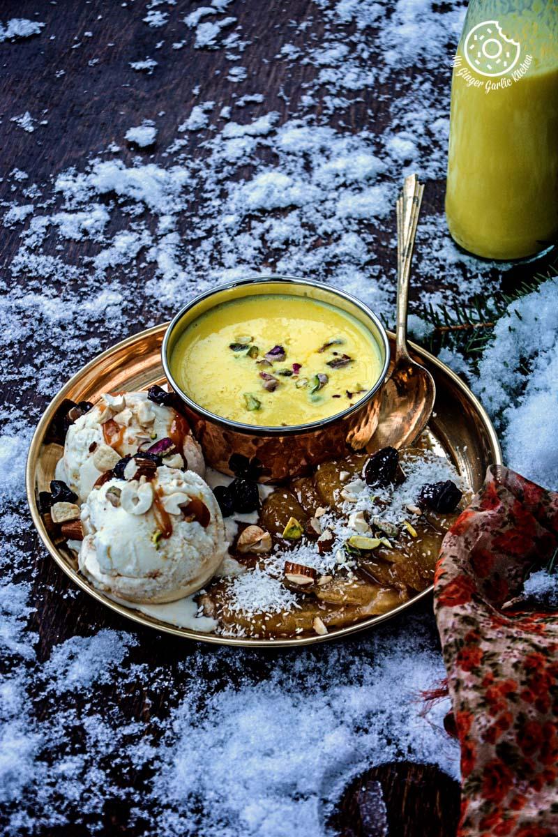 recipes-caramelized-banana-with-nuts-and-mango-yogurt-anupama-paliwal-my-ginger-garlic-kitchen-7