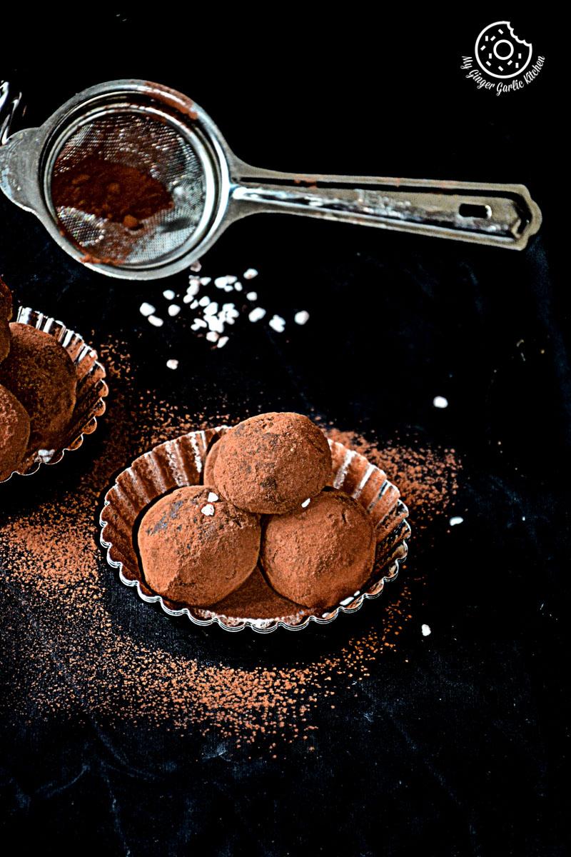 recipes-Coconut-Milk-Peanut-Butter-Truffles|mygingergarlickitchen.com/ @anupama_dreams