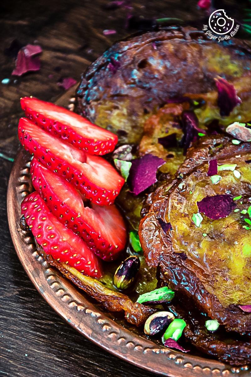 recipes-Rajasthani-Mawa-Malpua|mygingergarlickitchen.com/ @anupama_dreams