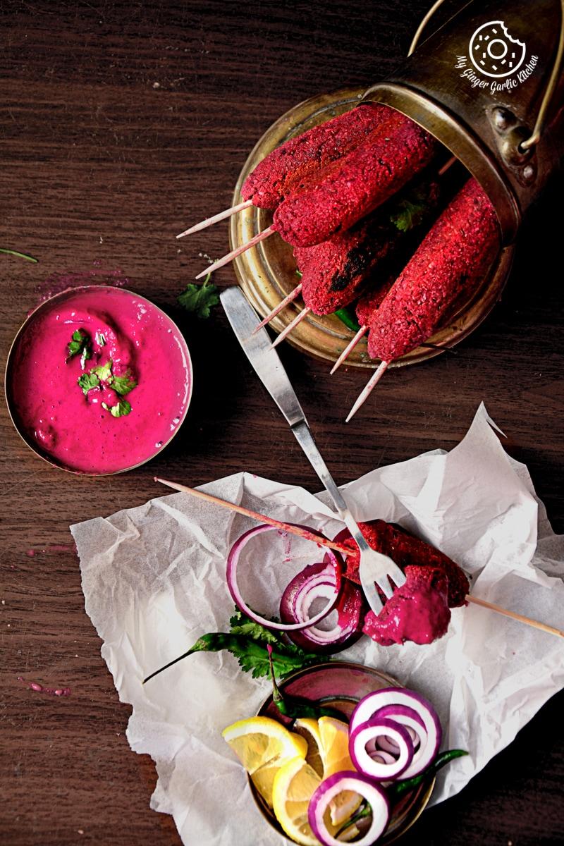 Image - recipes roasted beet kebabs anupama paliwal my ginger garlic kitchen 11 683x1024