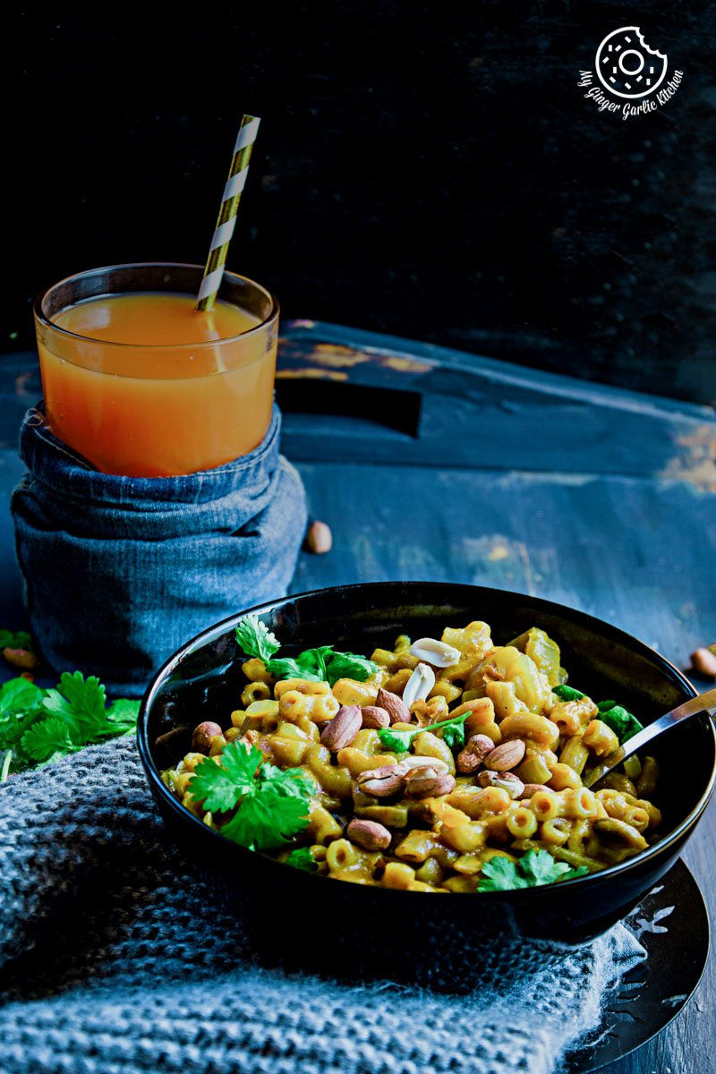 One Pan Thai Yellow Curry Mac  mygingergarlickitchen.com/ @anupama_dreams
