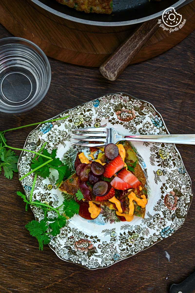 recipes-Spanish-Style-Vegetarian-Omelette-anupama-paliwal-my-ginger-garlic-kitchen-3