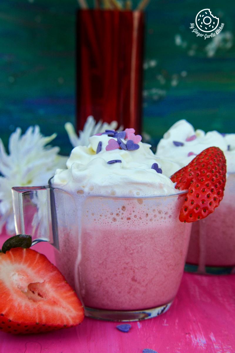Image - recipes Strawberry white hot chocolate anupama paliwal my ginger garlic kitchen 8 1 683x1024