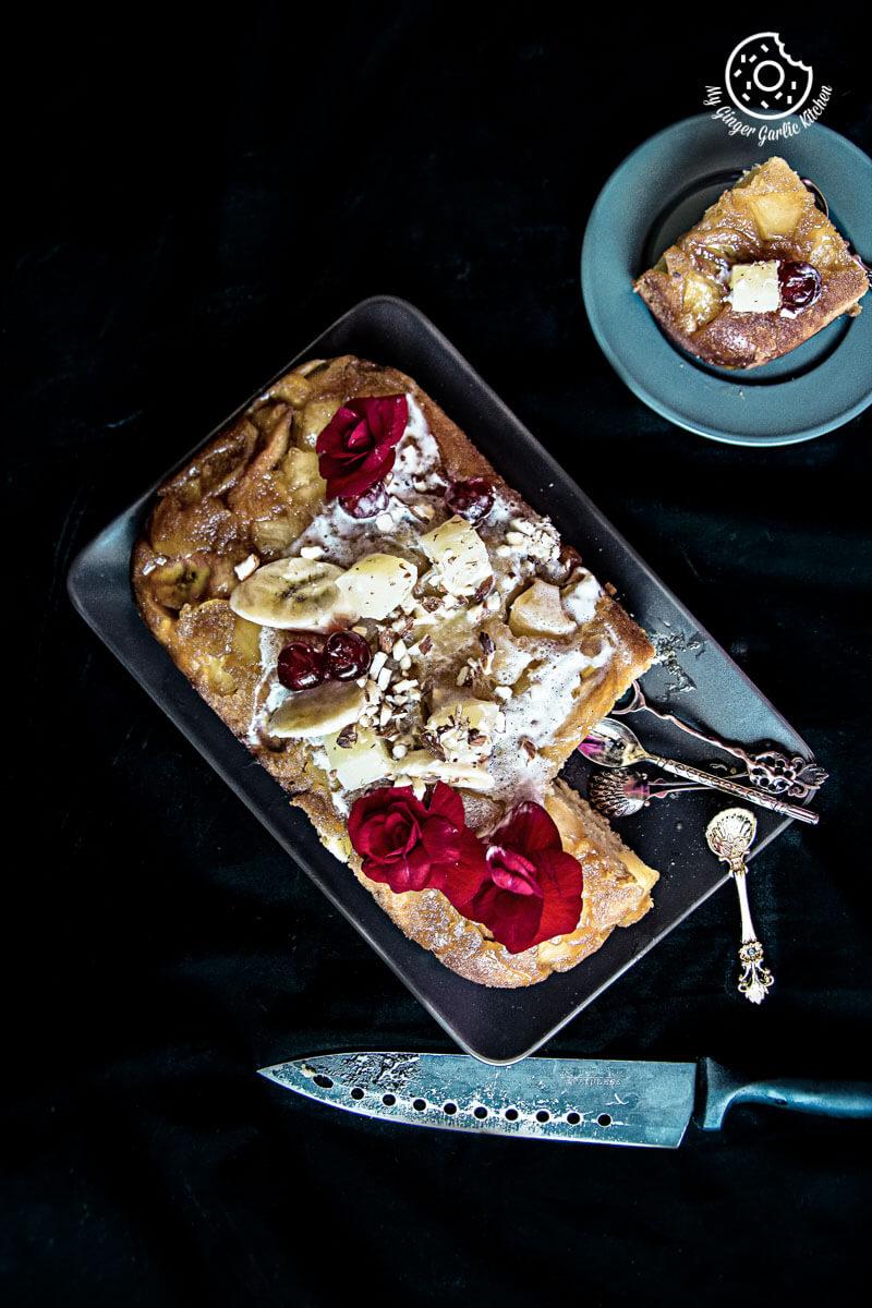 recipes-Banana-Pineapple-Upside-Down-Cake-anupama-paliwal-my-ginger-garlic-kitchen-10