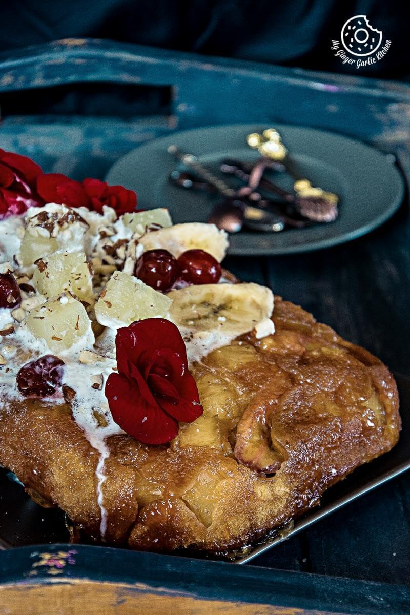 recipes-Banana-Pineapple-Upside-Down-Cake-anupama-paliwal-my-ginger-garlic-kitchen-3