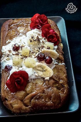 Image of Banana Pineapple Upside Down Cake - Video Recipe