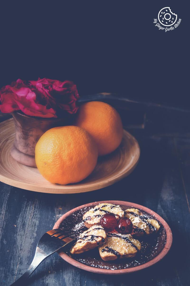 Eggless Oats Orange Muffins 3 Ways | mygingergarlickitchen.com/ @anupama_dreams
