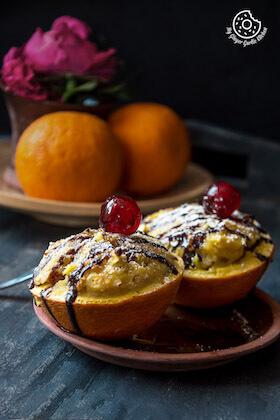Oats Orange Eggless Muffins 3 Ways | Video Recipe