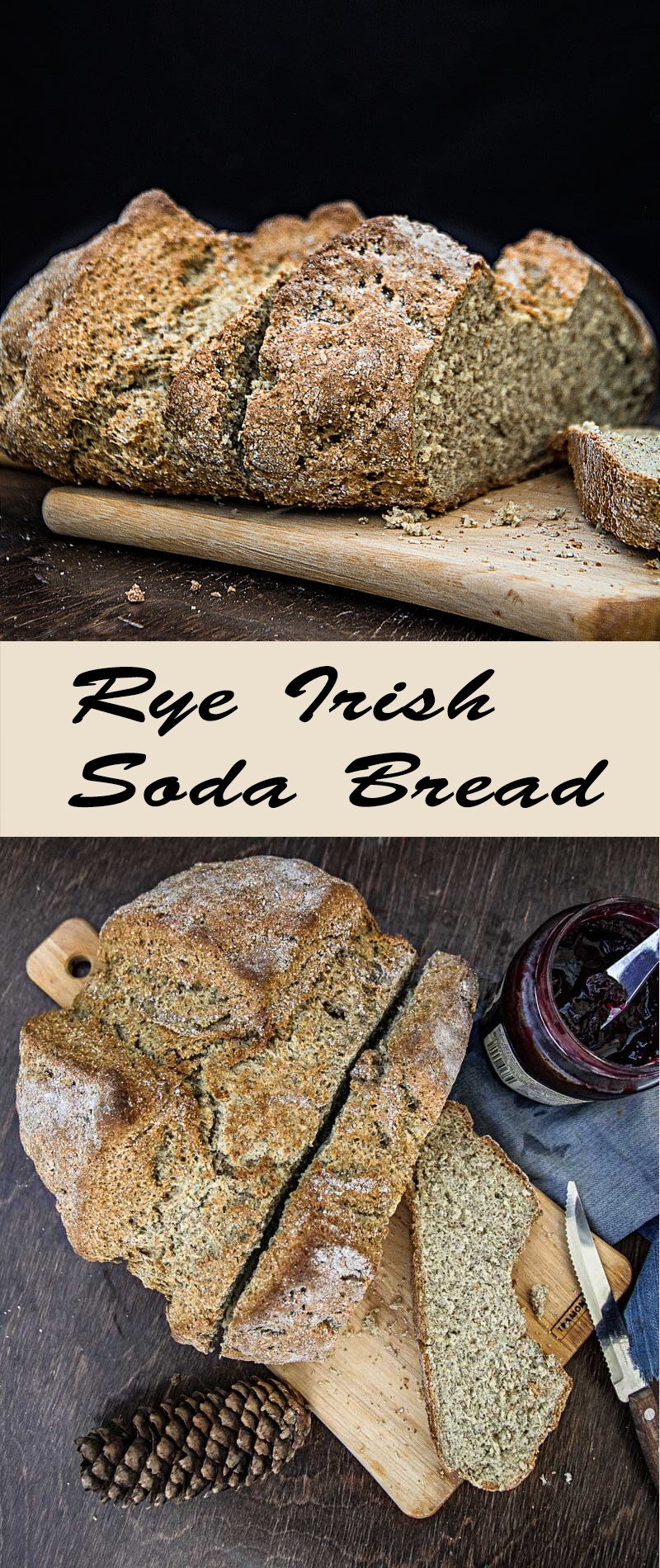 Rye Irish Soda Bread | mygingergarlickitchen.com/ @anupama_dreams