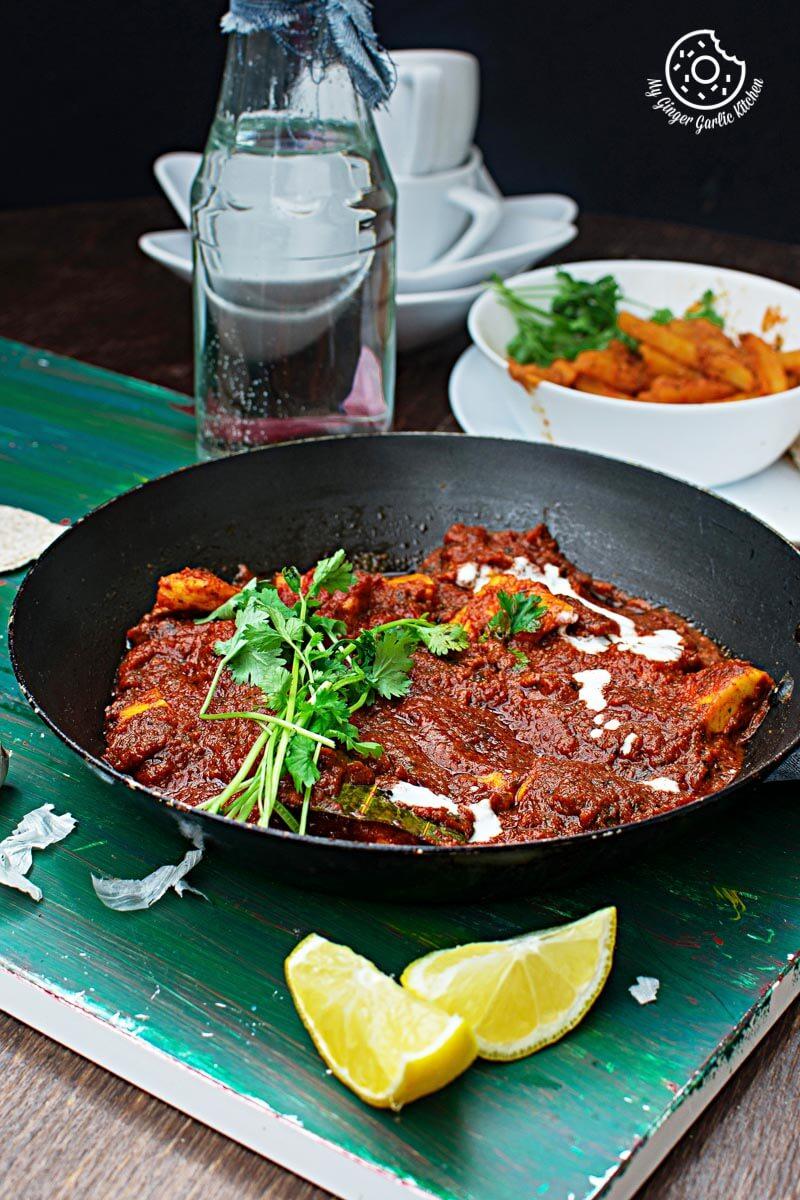 Restaurant Style Paneer Butter Masala | Paneer Makhani | mygingergarlickitchen.com/ @anupama_dreams