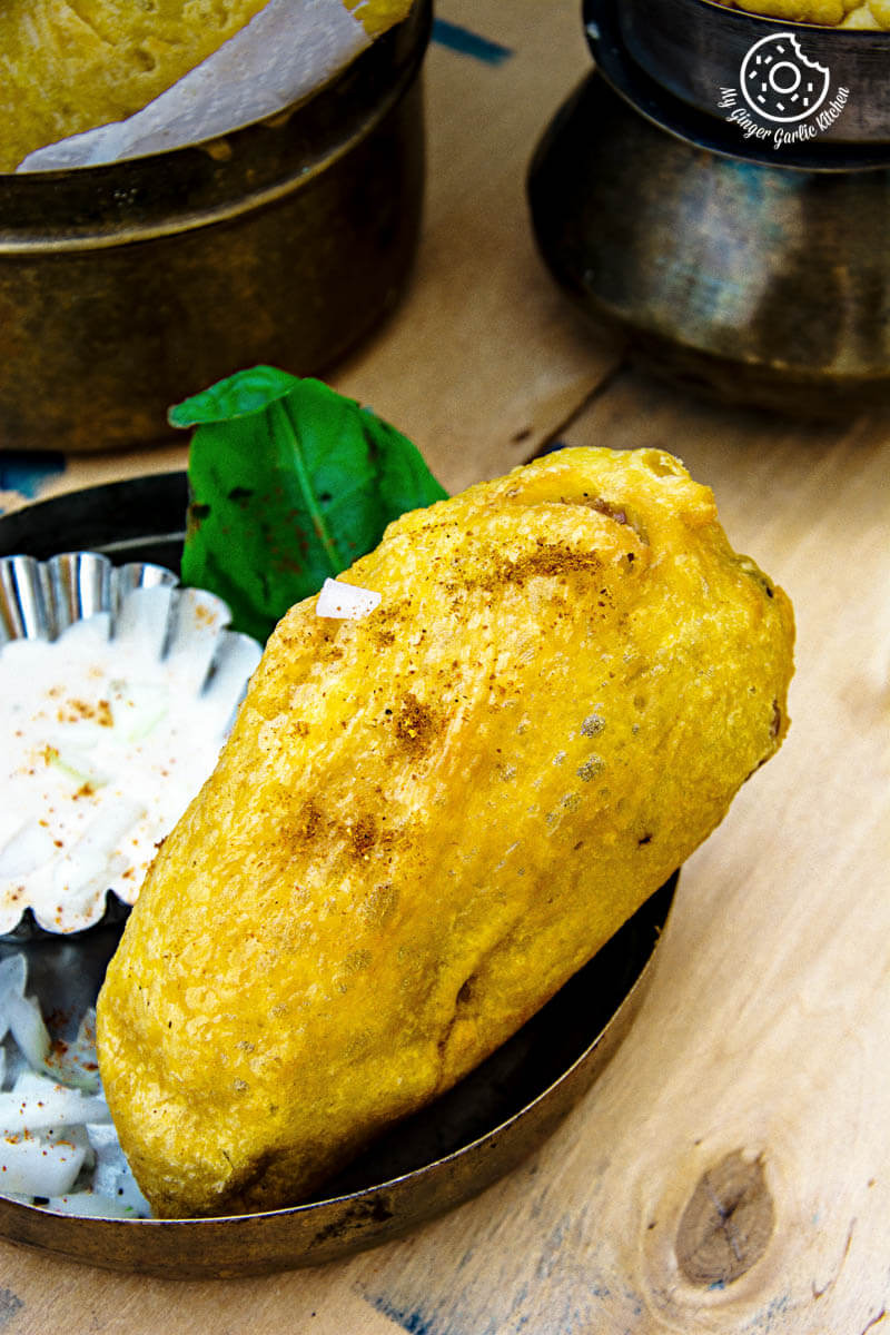 Rajasthani Mirchi Vada | mygingergarlickitchen.com/ @anupama_dreams