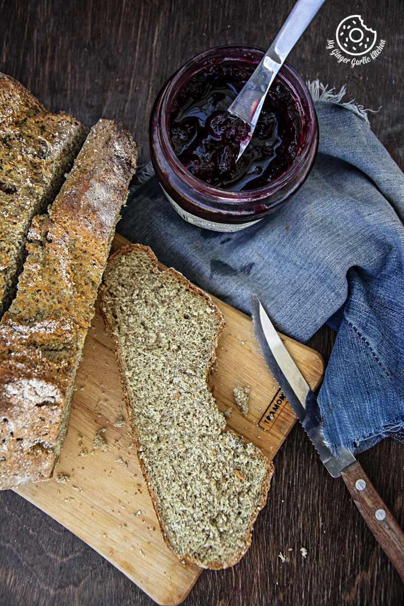 Rye Irish Soda Bread   mygingergarlickitchen.com/ @anupama_dreams