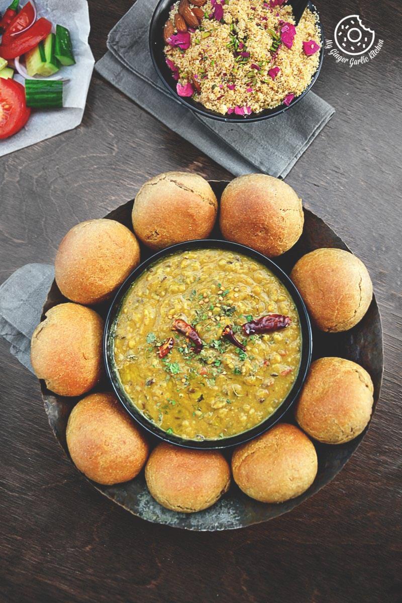 Rajasthani Authentic Dal Baati Churma Recipe Video
