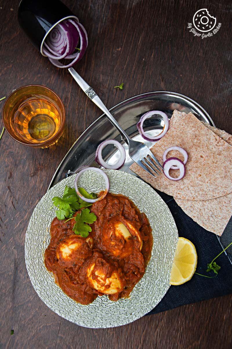 Egg Curry | Anda Curry | mygingergarlickitchen.com/ @anupama_dreams