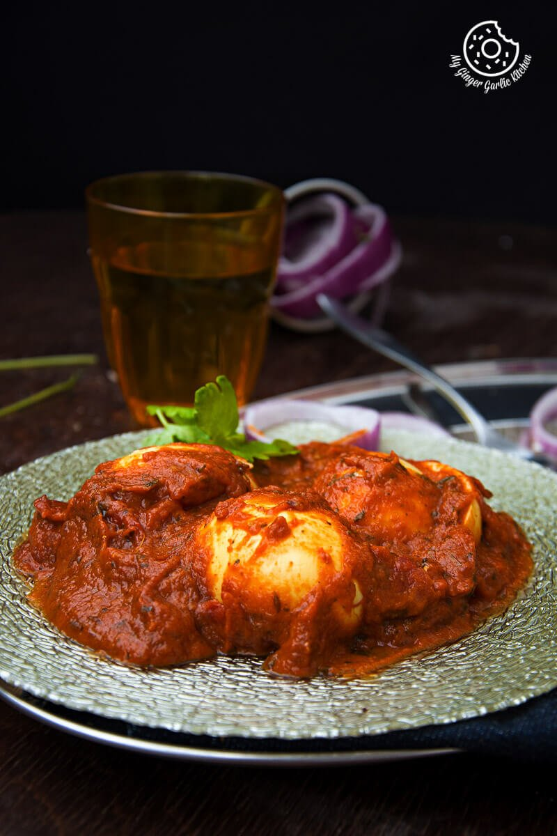 Egg Curry | Anda Curry | mygingergarlickitchen.com/ @anupama_dreams