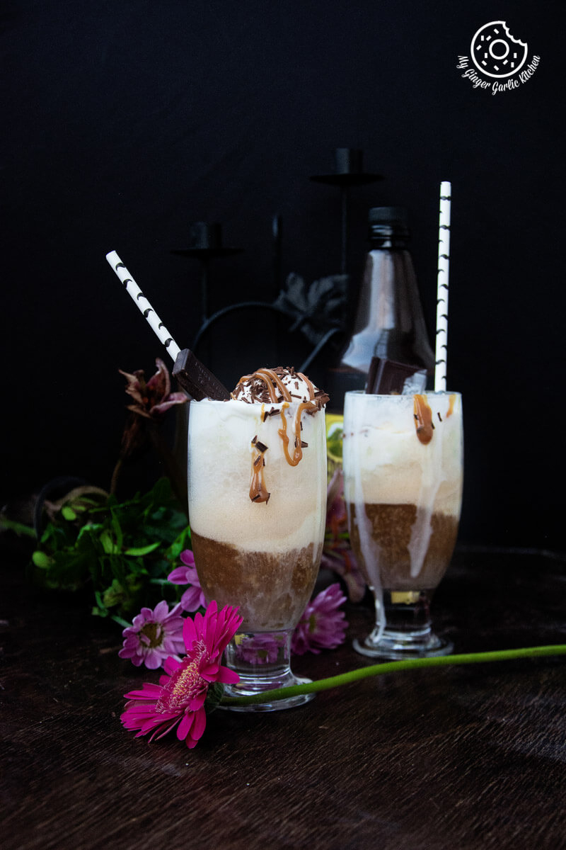 Home Brewed Beer Float | mygingergarlickitchen.com/ @anupama_dreams