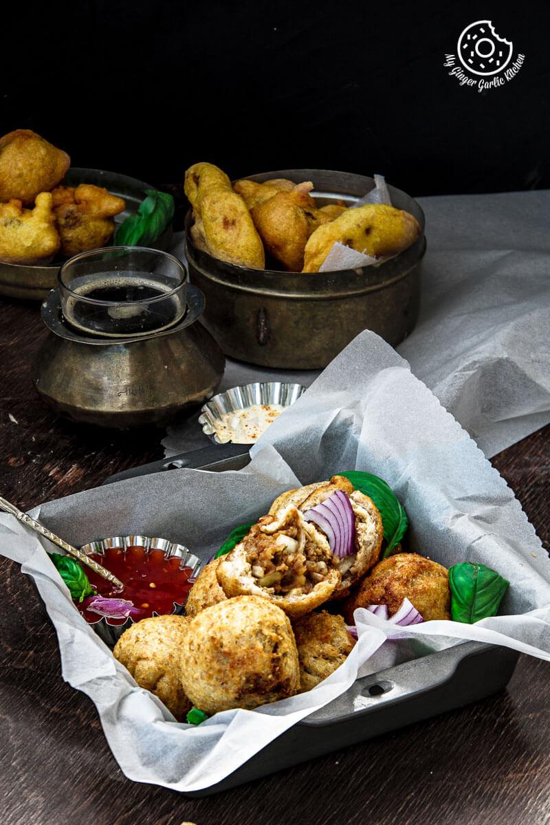 Potato Stuffed Bread Roll | mygingergarlickitchen.com/ @anupama_dreams