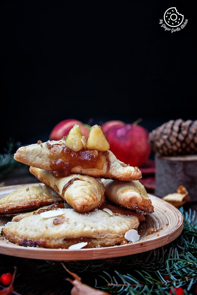 Apple Hand Pies | mygingergarlickitchen.com/ @anupama_dreams