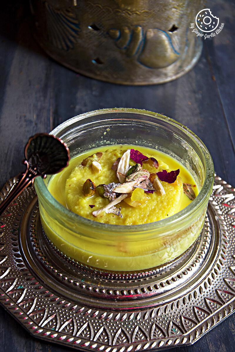 Instant Bread Rasmalai | mygingergarlickitchen.com/ @anupama_dreams