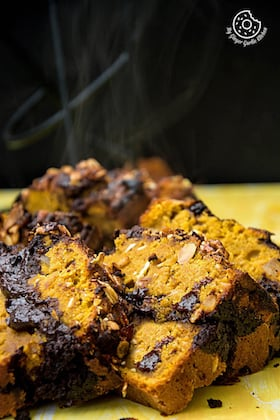 Image of Pumpkin Muesli Chocolate Bread | Video Recipe