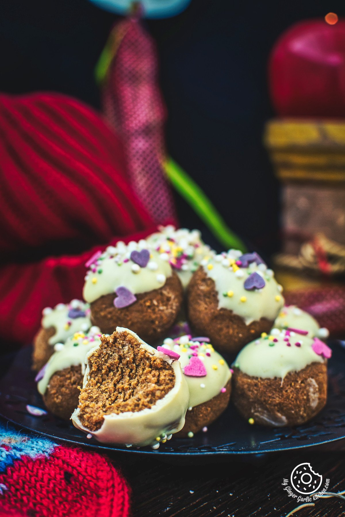Image of Gingerbread Truffles Recipe
