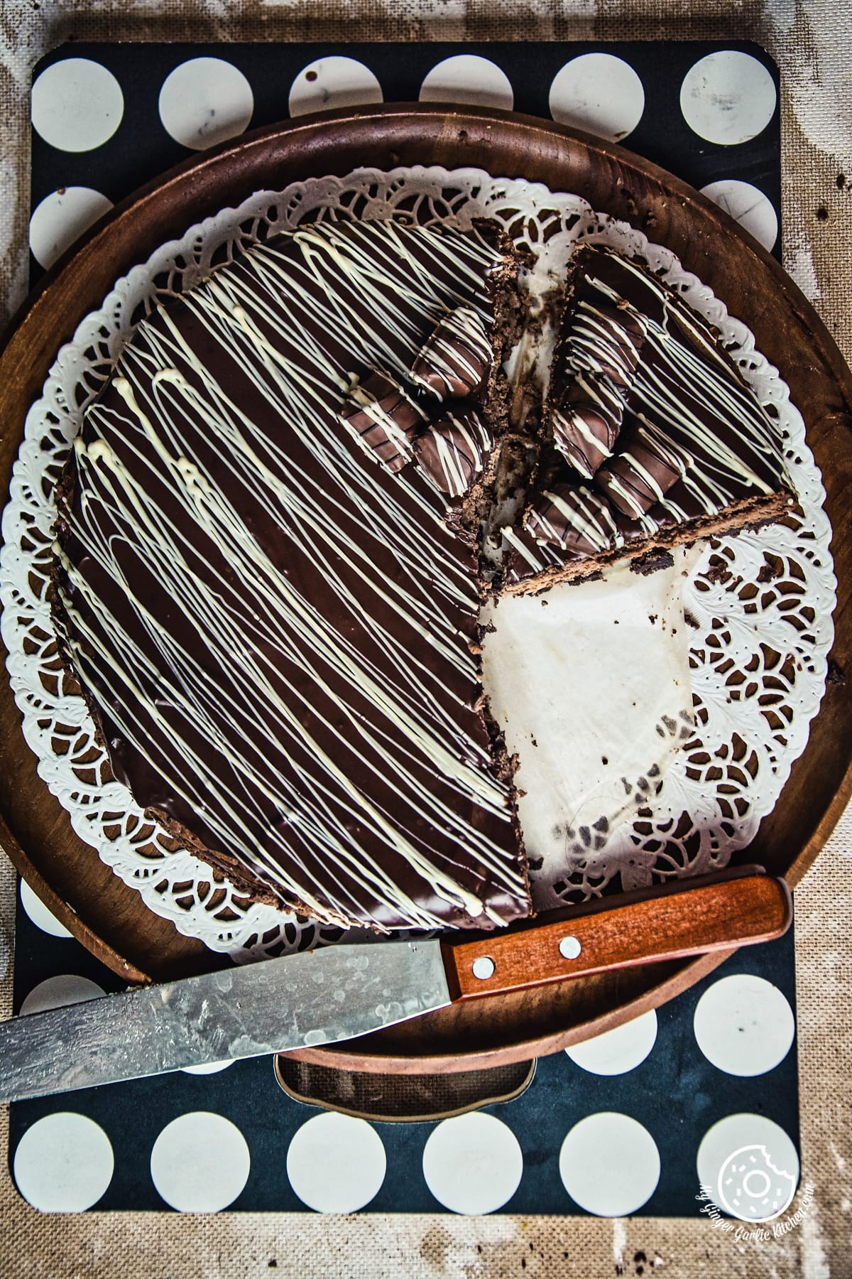 Chocolate Cheesecake   mygingergarlickitchen.com/ @anupama_dreams