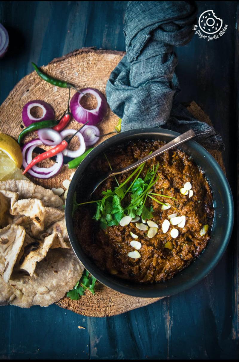 Image - recipes Haldi Ki Sabji Fresh Turmeric Root Curry anupama paliwal my ginger garlic kitchen Pinterest
