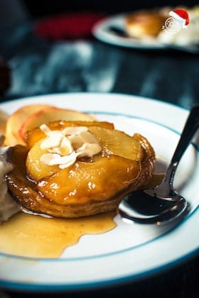 Image of Mini Apple Pear Tarte Tatin
