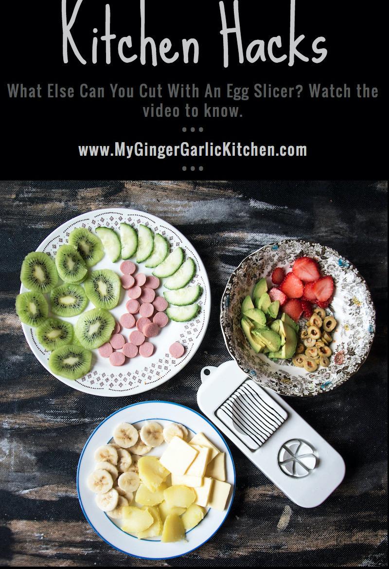 9 Amazing Egg Slicer Hacks   mygingergarlickitchen.com/ @anupama_dreams