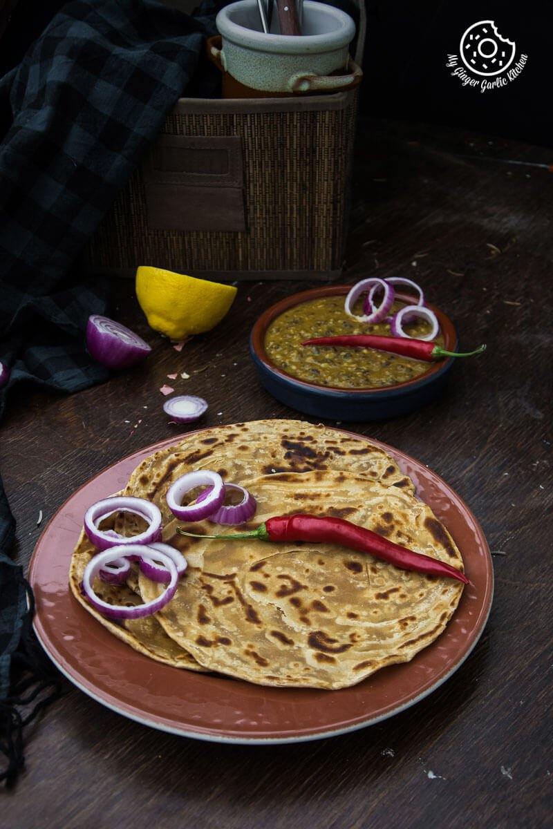 Lachha Paratha 3 Ways | How to Make Lachha Paratha | mygingergarlickitchen.com/ @anupama_dreams