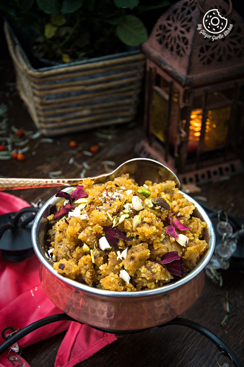 Rajasthani Moong Dal Halwa   mygingergarlickitchen.com/ @anupama_dreams