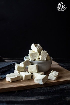 Image of How to Make Paneer (Step-by-Step-Video)