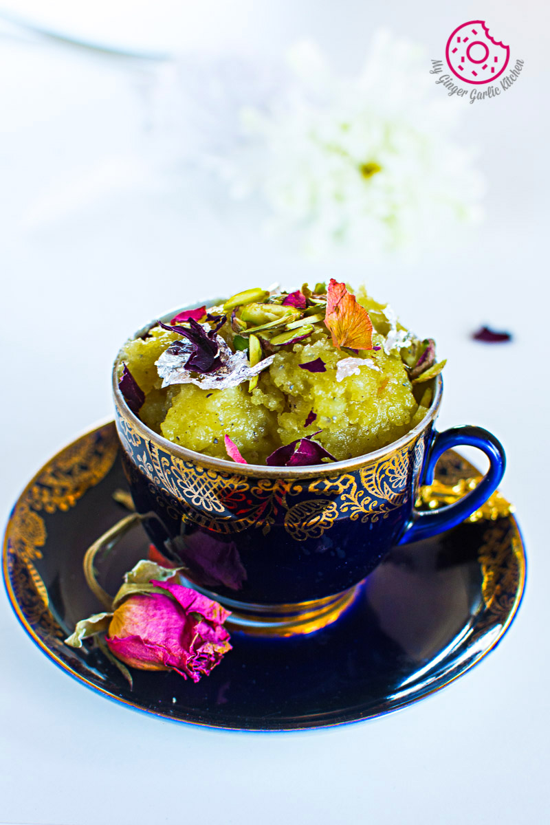 Aloo Ka Halwa | How to Make Potato Halwa | mygingergarlickitchen.com/ @anupama_dreams