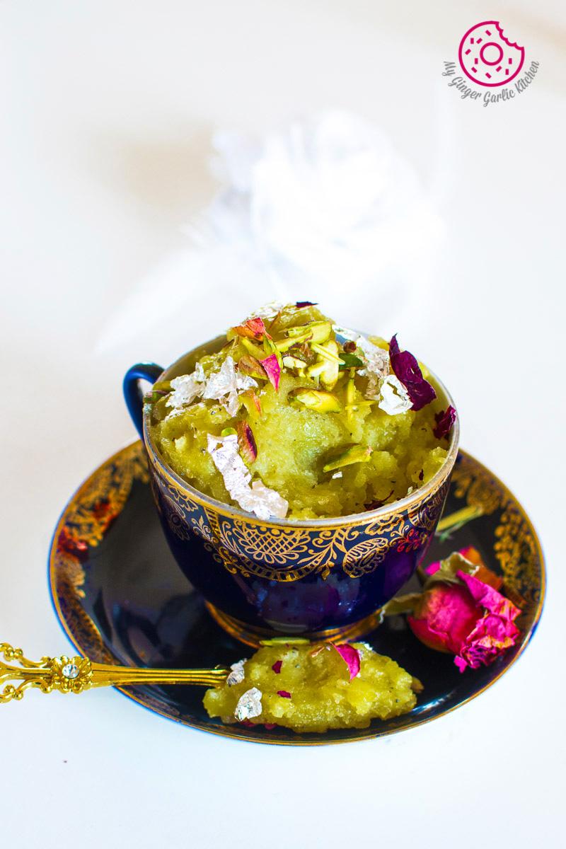 Aloo Ka Halwa | How to Make Potato Halwa | mygingergarlickitchen.com/ @anupama_dreams