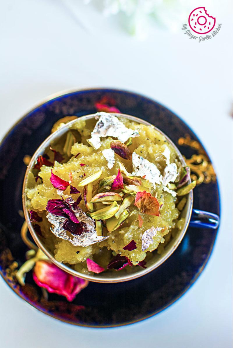 Aloo Ka Halwa   How to Make Potato Halwa   mygingergarlickitchen.com/ @anupama_dreams