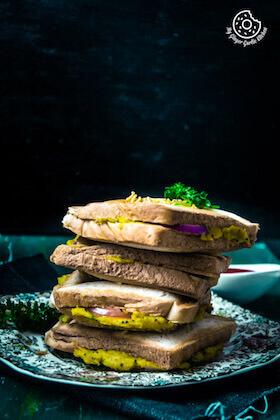 Bombay Masala Toast | How to Make Masala Toast | Video Recipe