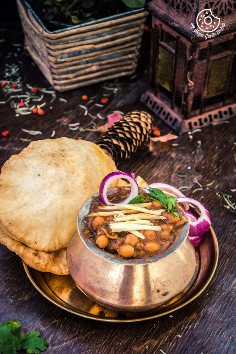 Punjabi Chole Bhature   Chana Bhatura   mygingergarlickitchen.com/ @anupama_dreams