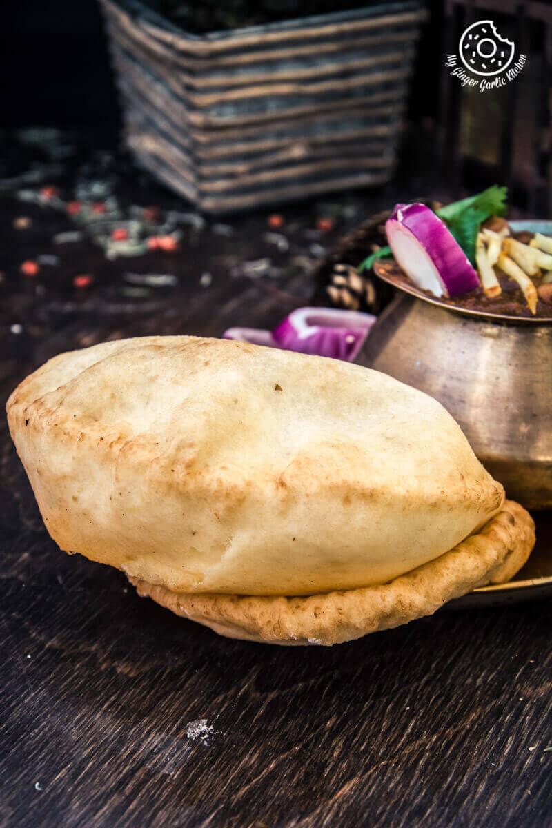 Punjabi Chole Bhature | Chana Bhatura | mygingergarlickitchen.com/ @anupama_dreams