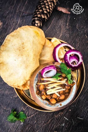 how to make chole bhature in punjabi style