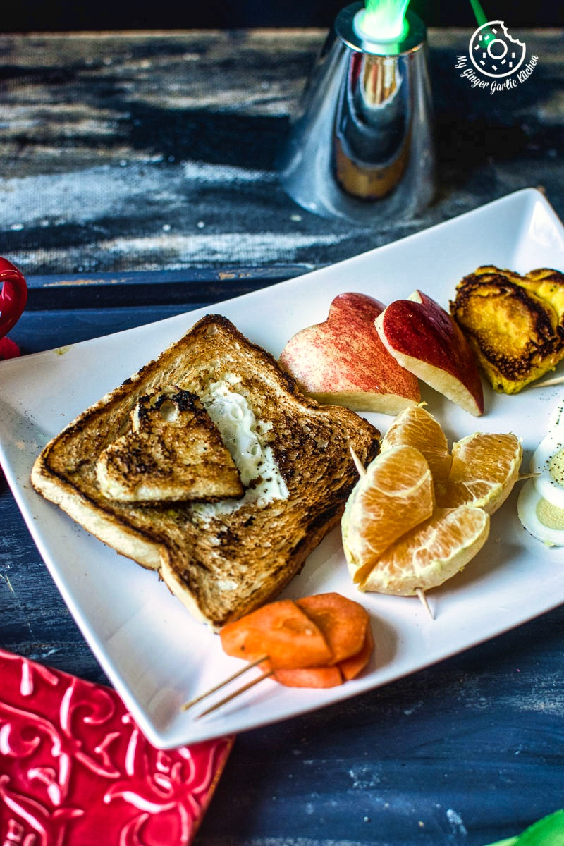 Valentine's Day Breakfast Ideas | mygingergarlickitchen.com/ @anupama_dreams