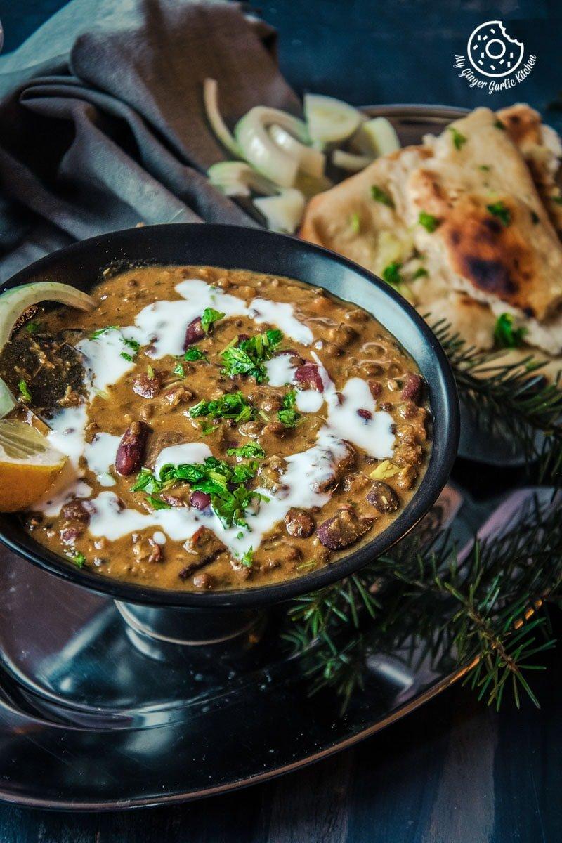 Restaurant Style Dal Makhani | mygingergarlickitchen.com/ @anupama_dreams