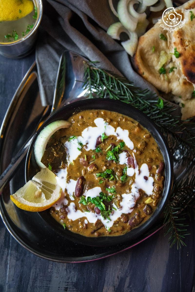 Restaurant Style Dal Makhani   mygingergarlickitchen.com/ @anupama_dreams
