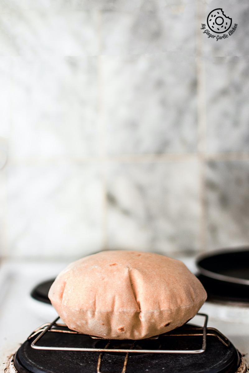 Image - Food Styling indian roti recipe phulka chapati Pinterest
