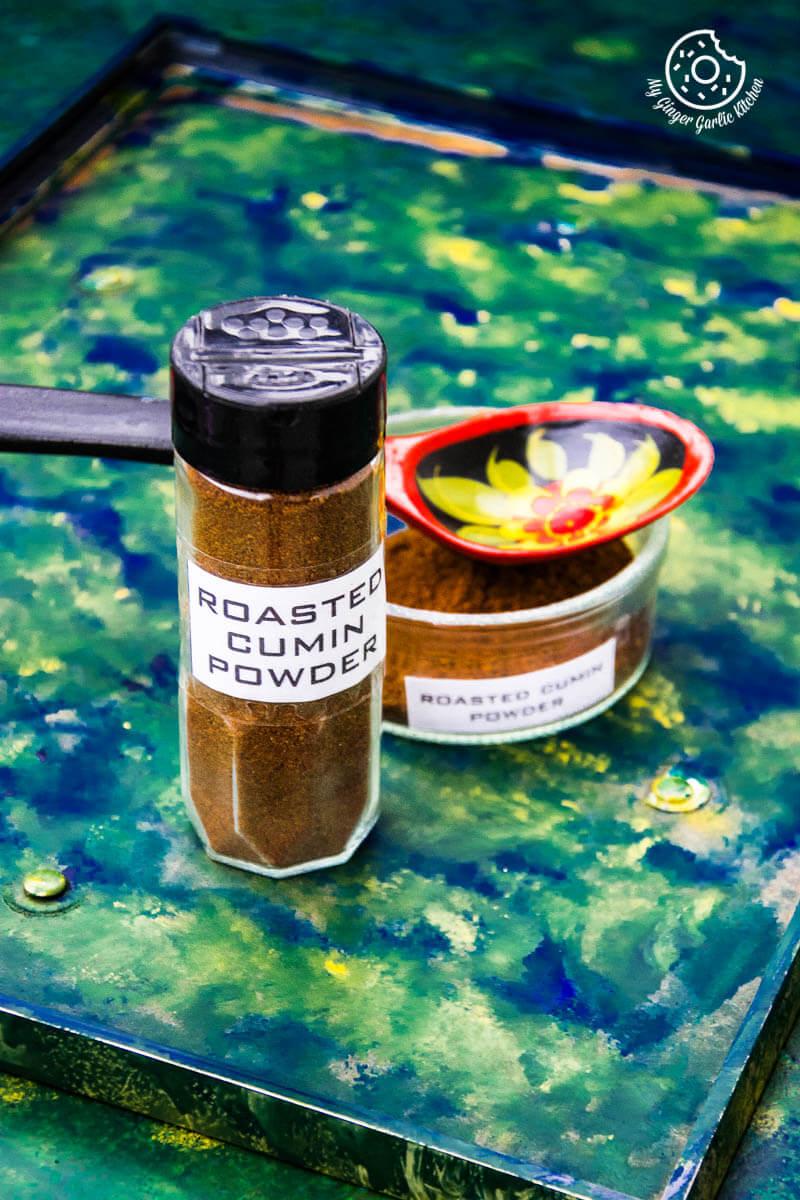 How To Make Roasted Cumin Powder | Bhuna Jeera Powder | mygingergarlickitchen.com/ @anupama_dreams