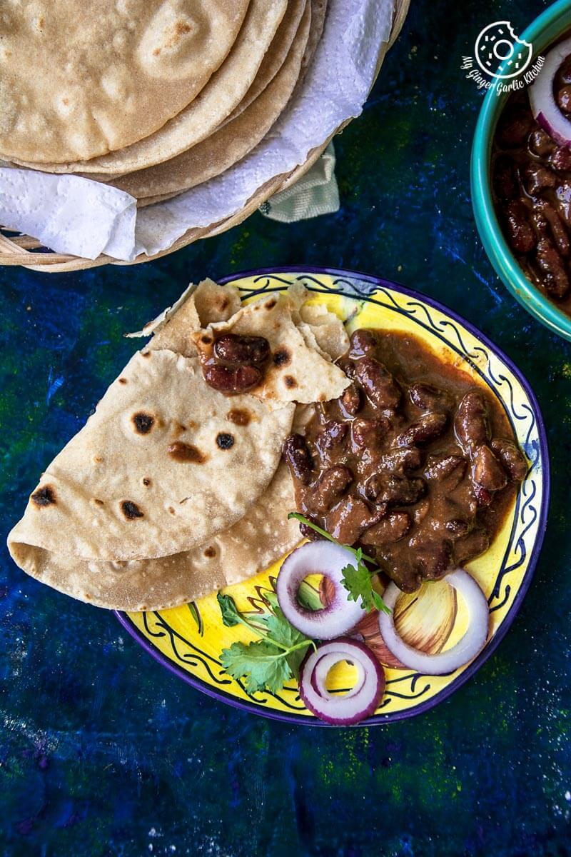 How To Make Indian Roti | Phulka Recipe | Chapati | mygingergarlickitchen.com/ @anupama_dreams